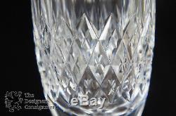 12 Vintage Cut Crystal Tudor Champagne Flutes Stemware Wine Glass Set England