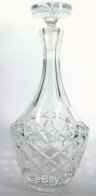 1 Vintage Orrefors Karolina Wine Decanter High Quality Cut Crystal (2 available)