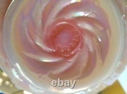 2 RARE Gibson 1995 Vintage Glass Pink Embose GRAPE Wine BOTTLE Decanter Jar 12
