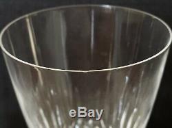 3 Lalique Vintage Crystal Chinon Red Wine Glasses 7.5 France Read Description