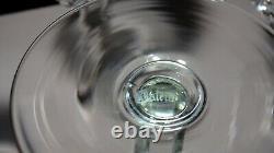 4 Vintage Waterford Crystal Alana Wine Hock Glasses Made In Ireland
