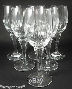 6 Vintage Danish Holmegaard Leonora Red Wine Glasses Christer Holmgren c1968