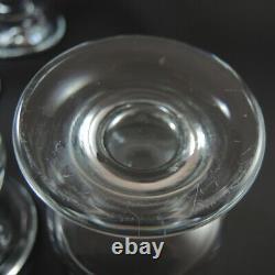 6 Vintage Holmegaard Danish Ships Cocktail Wine Glasses Per Lutkin 1971