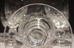 6 Vintage Waterford Colleen Claret Wine Glasses 4 3/4 Made In Ireland