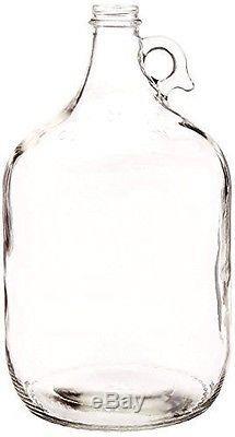 8 1 Gallon Glass Vintage Carboy Juice Drink Jug Bottle Beer Wine Mead Fermenting