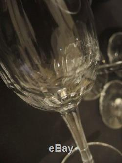 8 Vintage Danish Holmegaard Egholm Red Wine Glasses Christer Holmgren c1970