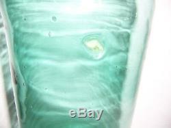 Antique Vintage Large Green Glass Wine Bottle Carboy Demijohn