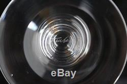 Authentic Vintage Mid Century Modern Set 6 Steuben Crystal 7725 Wine Glasses
