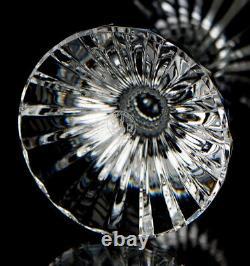 Baccarat Massena Water Wine Goblet Glass 7 Elegant Vintage Cut Crystal France