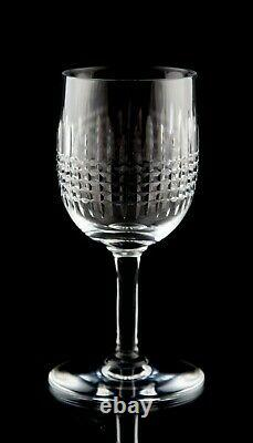 Baccarat Nancy Port Wine Glasses Set of 6 Vintage Elegant Cut Crystal France