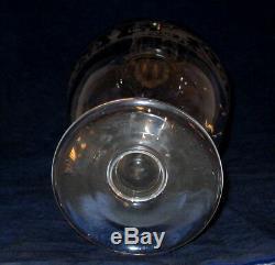 Baccarat Vintage Etched Decanter