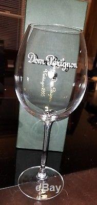Don Perignon Champagne Vintage 1995+ 5 TULIP WINE/CHAMPAGNE GLASSES