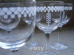 Frank Lloyd Wright Original Vintage The Imperial Hotel Wine Glass circa 1940-60s