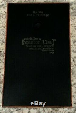 Houston Llew Spiritile #128''Vintage'' Wine Bottles Glass on Copper Tile ART