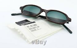 JEAN PAUL GAULTIER Sonnenbrille 55-7002 Color 1 Sunglasses 90s Wine Red + Green