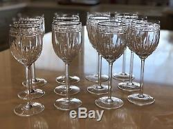 Lenox Vintage Jewel Platinum Wine Goblet Set Of 12
