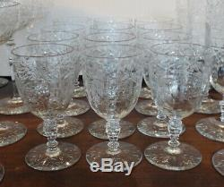 Libbey Rock Sharpe COUNTESS Juice Glass 10 Pce Set PERFECT 1016 Wine Cut Crystal