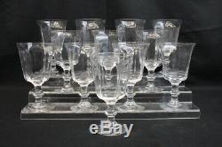 Lot of 35 Pc. Vintage LENOX Antique Clear Goblets, Wine Glasses & Sherbet (42)