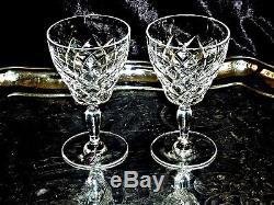 Marvellous Vintage Wine Set Ship Decanter 6 Crystal Wine Glasses Serving Tray