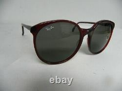New Vintage B&L Ray Ban Traditionals Trish Wine Tint W0345 Round Oversize NOS