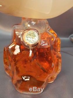 Rare Vintage Murano Luxardo Liquor Wine Fish Art Glass Venetian Decanter Bottle