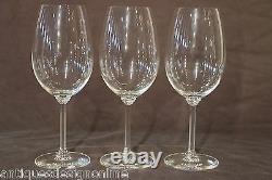 Rare set 34 antique Georgian crystal wine glasses quality engraved Empire 1800s