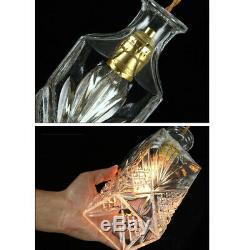 Retro Decanter Glass Wine Bottle Pendant Light Ceiling Lights Lamp Shade Vintage