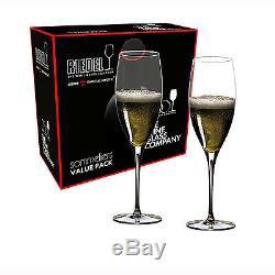 Riedel Sommeliers Value Set Vintage Champagne Glasses Set Of 2