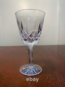 Set of 12 True Vintage WATERFORD CRYSTAL Lismore 6 Claret Wine Glasses IRELAND