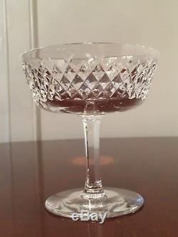 Set of 12 Vintage WATERFORD CRYSTAL Alana Champagne Wine Sherbet Glasses