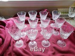 Set of 12 Vintage Waterford Lismore Claret / Wine Glasses