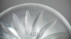 Set of 4 Vintage Waterford Cut Crystal Lismore Water Goblets Wine Hock Stemware