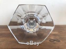 Set of 6 BACCARAT Crystal Vintage HARCOURT Design Red Goblet Wine Glass 6