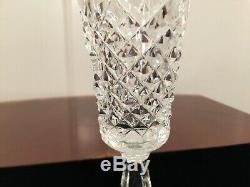 Set of 6 Vintage WATERFORD CRYSTAL Kenmare 8 Champagne Flutes Wine Glasses