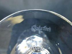 Seven Vintage Waterford Crystal Curraghmore Pattern Hock Wine Glasses