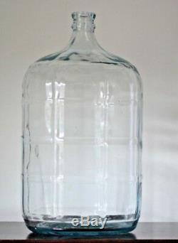 True Vintage Crisa 5 Gallon Carboy Beer Wine Glass Water Bottle Jug