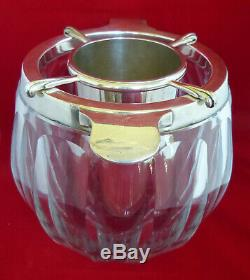 VINTAGE Baccarat large ICE, WINE or CHAMPAGNE BUCKET / CHILLER France Crystal