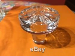 VINTAGE Signed WATERFORD Glandore Crystal Glass Spirits Liquor Wine Decanter