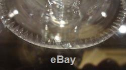 VINTAGE Waterford Crystal BLARNEY (1968-1971) 11 Claret Wine Glasses 4 3/4