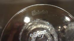 VINTAGE Waterford Crystal COLLEEN (1953-) Set 8 Claret Wine Glasses 4 3/4 5oz