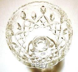 VINTAGE Waterford Crystal LISMORE (1957-) 4 Wine Hocks 7 1/2 8 oz Ireland