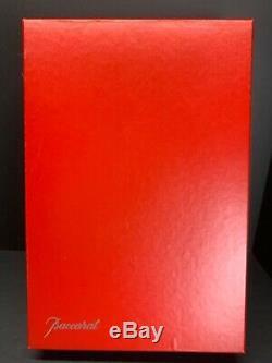 VTG Baccarat Crystal Ruby Red, Cobalt Blue, Green, Orange Wine Glasses Set Of 6