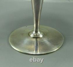 VTG TIFFANY CORDIAL WINE GOBLET GLASS Sterling Silver FANEUIL 18885 After Dinner