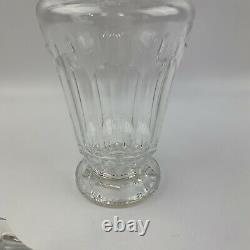 VTG Waterford Crystal Eileen Pattern Wine Decanter w Stopper Ireland 12 3/4