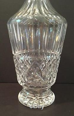 VTG Waterford Crystal Maeve Pattern 12-3/4 Wine Decanter With Stopper Ireland