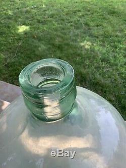 Vintage 13 Gal Glass Jug Carboy 1951 MCAG Std Demijohn Wine Home Brew Beer LARGE
