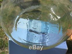 Vintage 13 Gallon Glass Carboy / Demijohn or Backyard Firefly Jar Decor