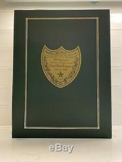 Vintage 1983 Cuvee Dom Perignon Champagne withTiffany Glasses NIB Collectors
