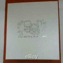 Vintage 2002 Sanrio Hello Kitty & Dear Daniel Pair of Wine Glasses in Box Rare