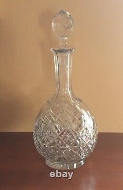 Vintage Baccarat Crystal Colbert Pattern 11 3/4 Wine Decanter